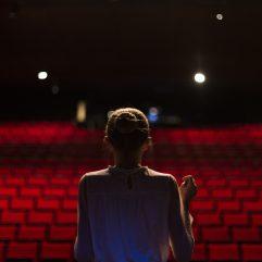 Répétition sur scène au Théâtre de Vidy