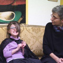 Une élève de Fréminet et Florence Godoy