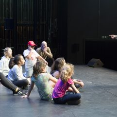 Les enfants du Vallon en répétition